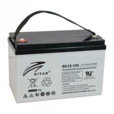 Ritar DC12-100D AGM-Batteri