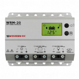 Western WRM-20 MPPT regulator