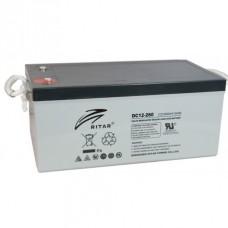 Ritar DC12-260D AGM-batteri